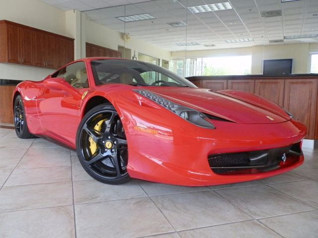 Used 2011 Ferrari In Los Angeles Ferrari 458 Italia For Sale In