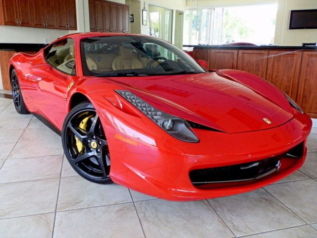 Ferrari 458 Italia For Sale >> Used 2011 Ferrari In Los Angeles Ferrari 458 Italia For Sale In